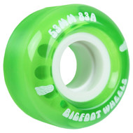 53mm Bigfoot 83A Cruiser Green Wheels (Set of 4)