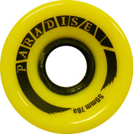Paradise Wheels - 59mm 78a Cruisers Yellow