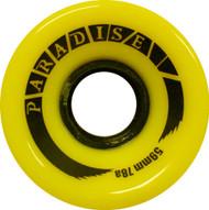 Paradise Wheels - 59mm 78a Cruisers Yellow