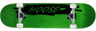 Moose Complete Scribble Black Green 8.0""