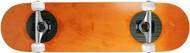 "Carbon Fiber Top/Bottom Insert Complete Orange 7.75"" x 31.1"""