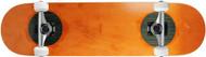"Carbon Fiber Top/Bottom Insert Complete Orange 8.25"" x 31.7"""