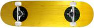 "Carbon Fiber Top/Bottom Insert Complete Yellow 8.0"" x 31.7"""