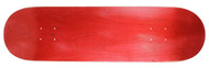 "Moose Deck Standard Stained Red 7.625"" x 31.3"""