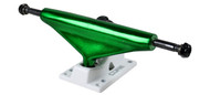 Core Truck 5.5 Anodized Green With White Base