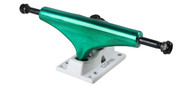 Core Truck 5.25 Anodized Green With White Base