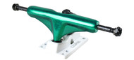 Core Truck 5.0 Anodized Green With White Base