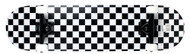 "Krown Black/White Checker 7.75"" Complete Skateboard Case of 4"