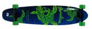 """Paradise Longboard 44"""" Kicktail Turtle Skull"""