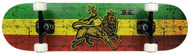 Krown Pro Trinity Rasta Complete Skateboard Case of 4