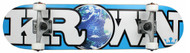 Krown World Blue Skateboard Complete Case of 4