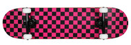 "Krown Black/Pink 7.75"" Skateboard Complete Case of 4"