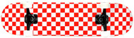 KPC Red & White Checkered Complete 4-Pack