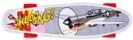 Street Surfing Plastic Cruiser Pop Board World War II