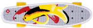 Street Surfing Plastic Cruiser Pop Board Banana