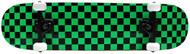 KPC Complete Black/Green Checkered 7.75""