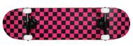 "Krown Complete Rookie Black/Pink Checker 7.75"""
