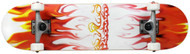 """Krown Complete Rookie Flame Red/White 7.5"""""""