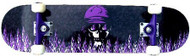"KPC Complete Purple Flame 7.75"""