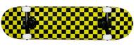 "Krown Complete Rookie Black/Yellow Checker 7.75"""