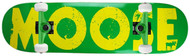 """Moose Complete Bold Logo Yellow/Green 7.75"""""""