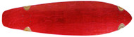 """Moose - 9.75"""" x 36.5"""" Kicktail Deck Stained Red"""