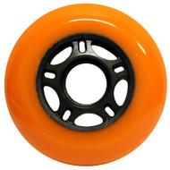 Inline Wheel - Orange / Black 76mm 89a