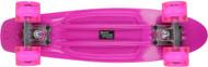 Street Surfing Plastic Cruiser Beach Board Glow Pink