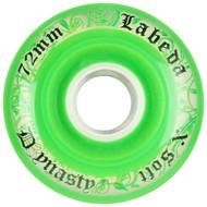 Labeda Hockey Wheel Dynasty 3 X-Soft Green 72mm
