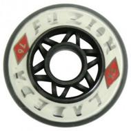 Labeda Hockey Wheel Fuzion 76A White/Black 72mm