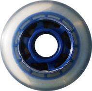 Inline Wheel - Clear / Blue 77mm 78a