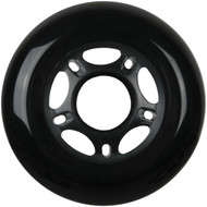 Inline Wheel 72mm x 24mm Black
