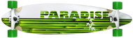 "Paradise Longboard 41"" Bamboo Inlay Pintail Stalks"