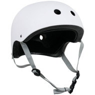 Krown Youth Solid Helmet White