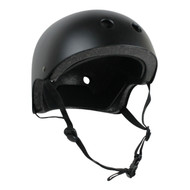 Krown Adult Solid Helmet OSFA Black