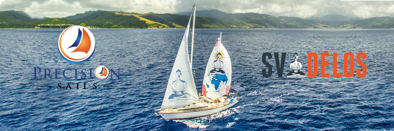 SV Delos and Precision Sails