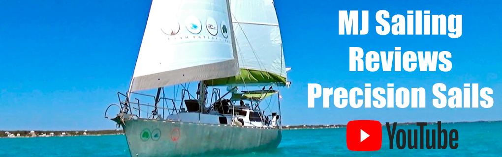 MJ Sailing Review of Precision Sails
