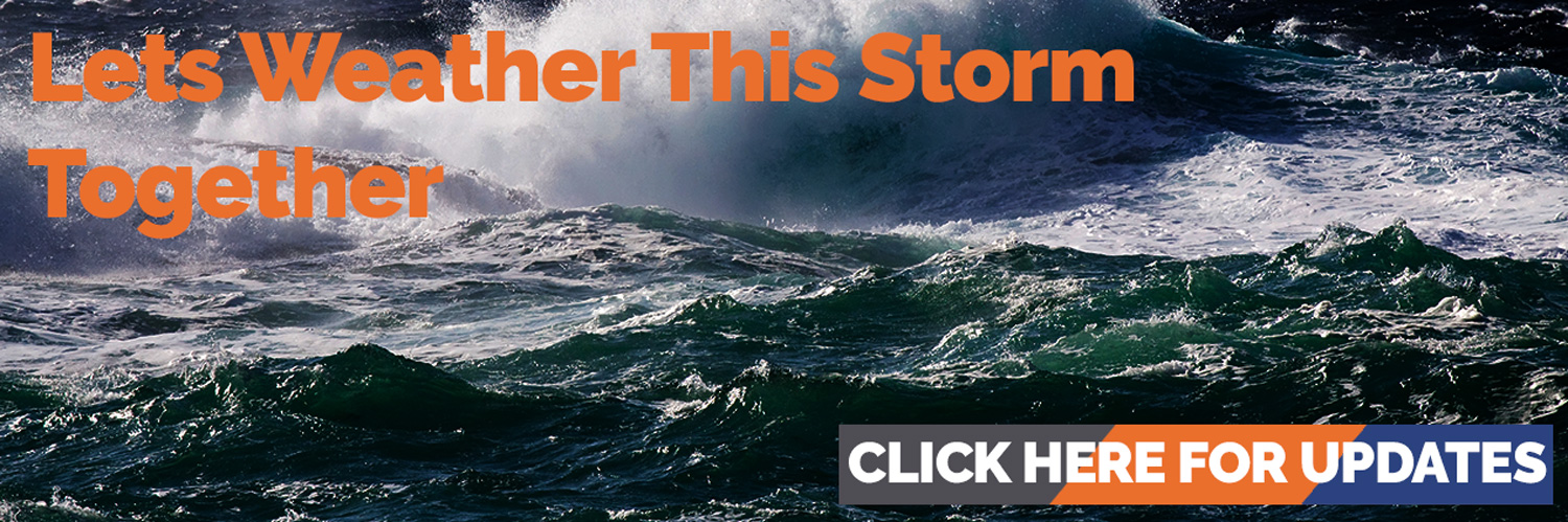 let's weather this storm together, click for updates from Darryl