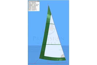 Sails - Upwind - C - Catalina - Catalina 22 - Precision