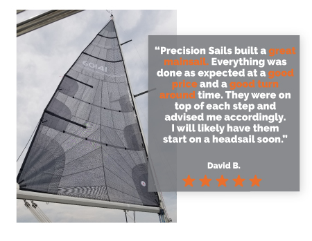 Precision Sails Spring Delivery Sale Take advantage of up to 25% off New Sails!