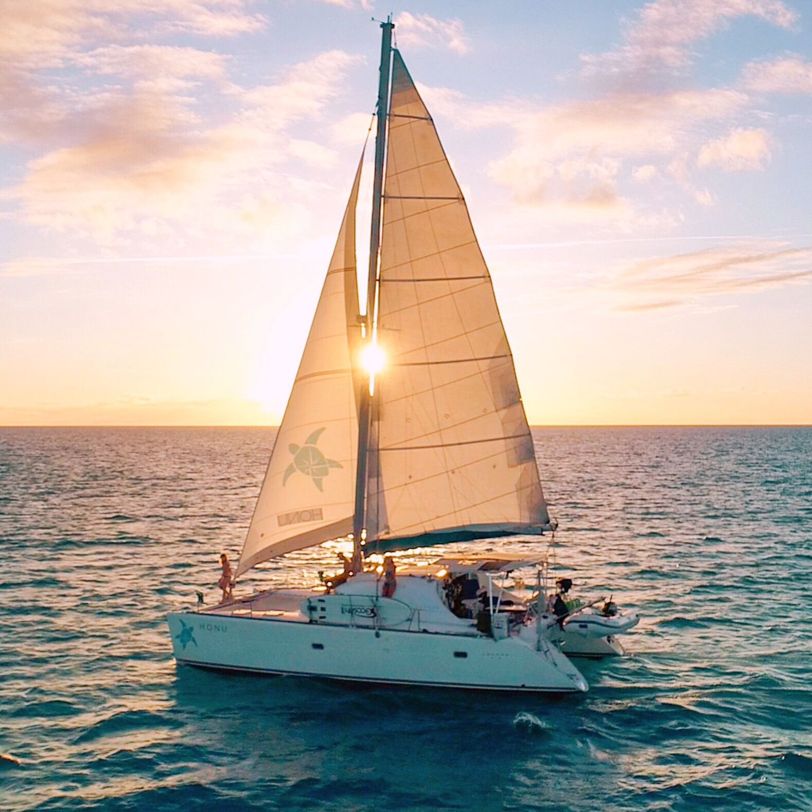 Sunset Sail with precision Sails