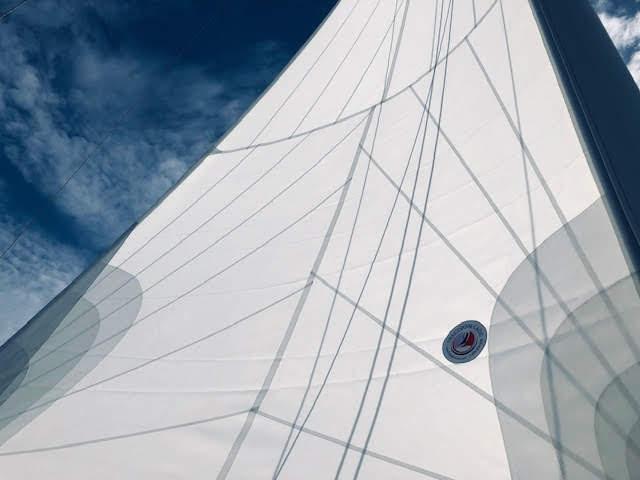 SV Delos Triradial Mizzen by Precision Sails