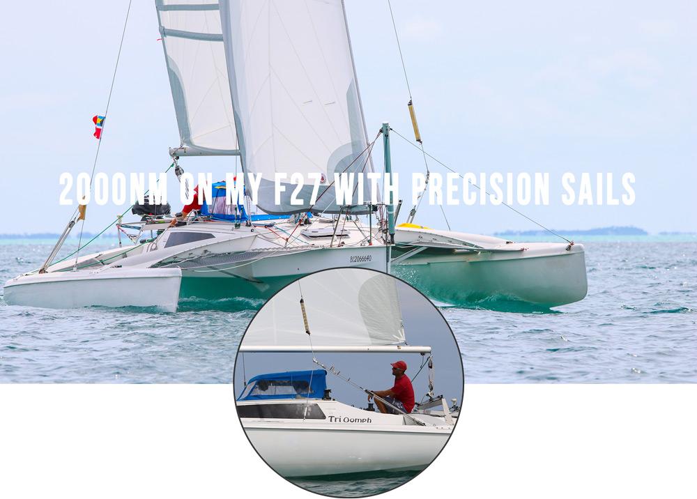 Sailing 2000nm on a F27
