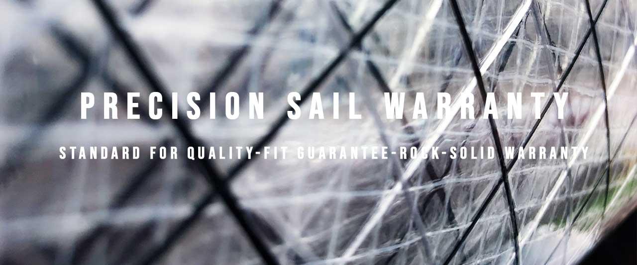 precision sails sail warranty