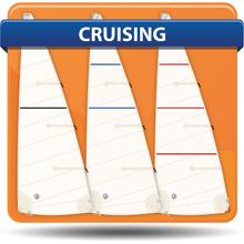 Capri 25 Cross Cut Cruising Mainsails