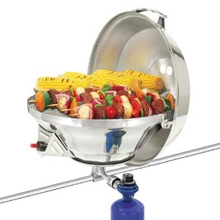 Magma Marine Kettle 2 Combination Stove And Gas Grill