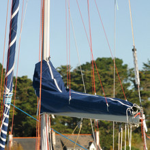 Get Mainsail Lazy Cradles and Stack Packs Boom Covers at PrecisionSailsLoft.com