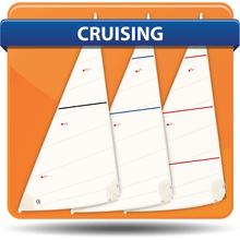 Albin 25 Cross Cut Cruising Headsails