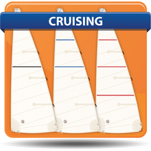 Alden 44 Cross Cut Cruising Mainsails