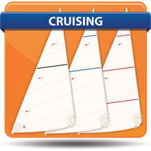 1/4 Tonner Cross Cut Cruising Headsails